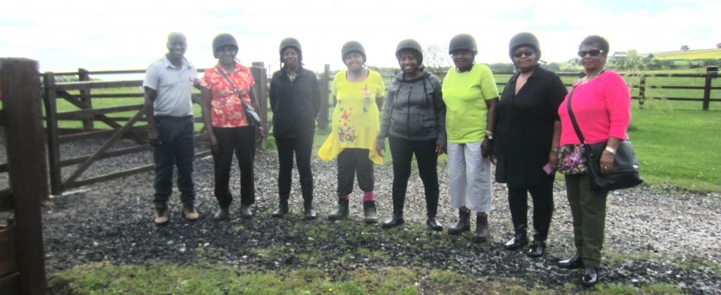 Sadacca Women's Group Go Horse Riding