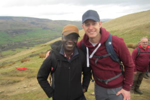 Maxwell Ayamba & BBC Countryfile Presenter Matt Baker